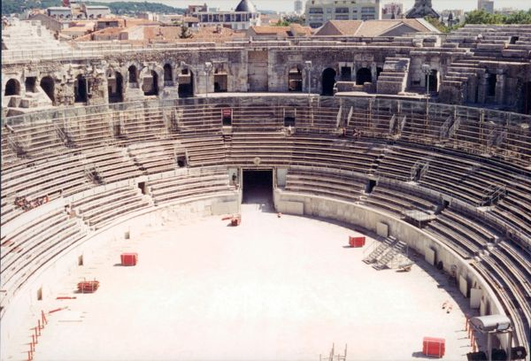 Arles Amphitheatre, Provence France.