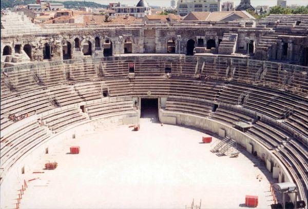 Arles Amphitheatre, Provence France.