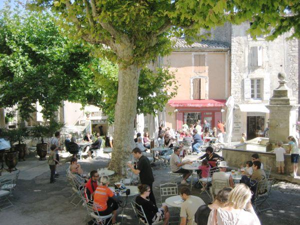 Town square, Gordes France.