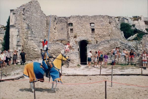 Jousting at Les Baux, Provence France.