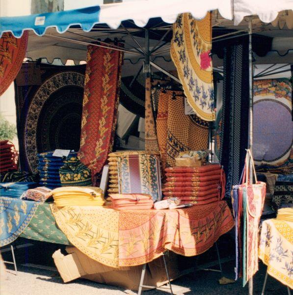 Provencal fabrics, France