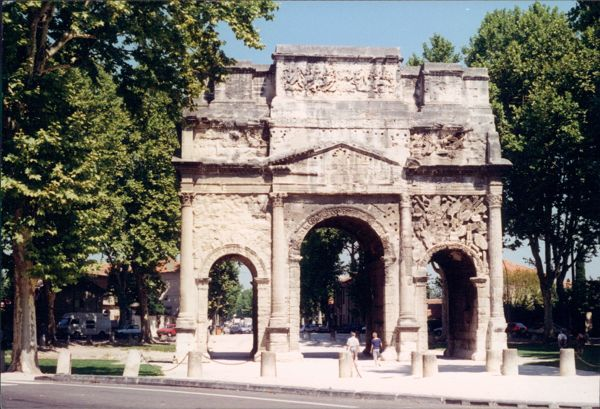Orange Triumphal Arch, Provence France.