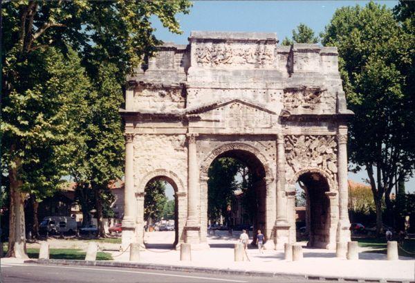 Orange Triumphal Arch, Provence France.