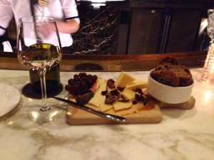 1608 Wine and Cheese Bar, Le Chateau Frontenac, Quebec City.