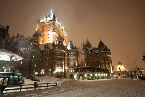 Chateau Frontenac Quebec City.