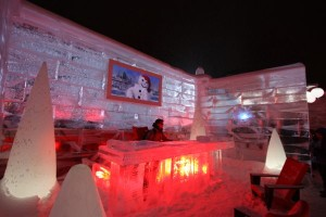 Ice Palace, Quebec Winter Carnival.