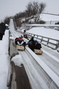 Quebec City Tobogganing