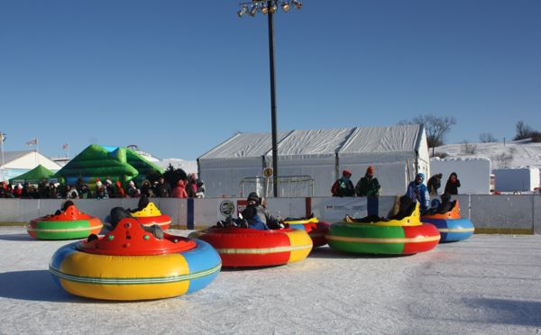 Quebec Winter Carnival Bumper Cars
