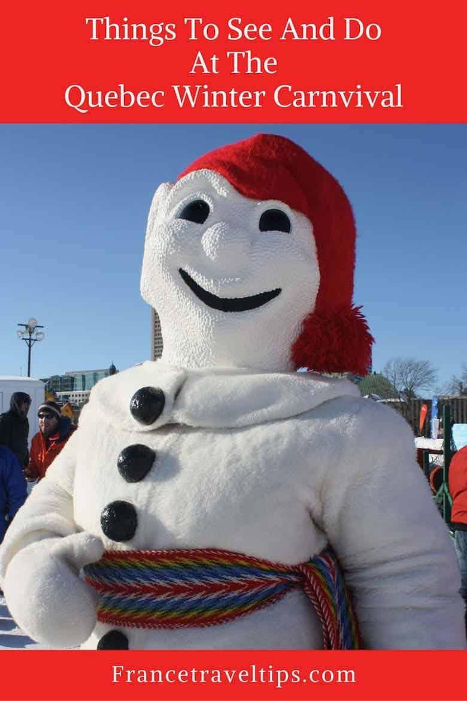 Le Bonhomme-Quebec Winter Carnival