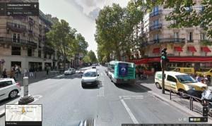 Boulevard Saint-Michel Paris, France