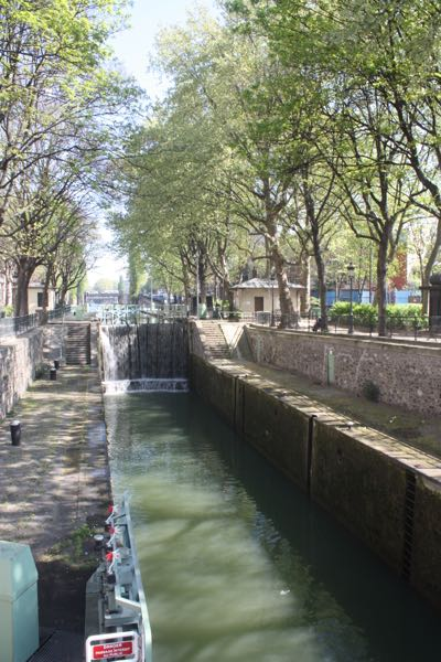Canal Saint Martin, Paris France.