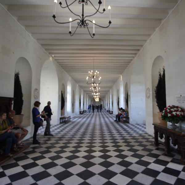Grand Gallery at Chateau de Chenonceau (J Chung)