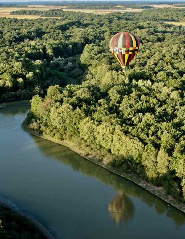 Hot Air Balloon ride over the Loire Valley (J Chung)