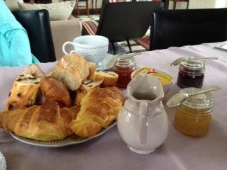 Breakfast in Nazelles (near Amboise) France