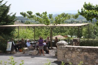 Bistrot La Terrasse in Joucas, France