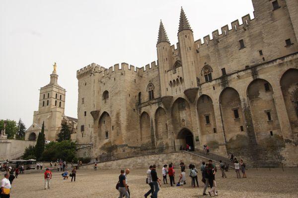 Palace des Papes Avignon France