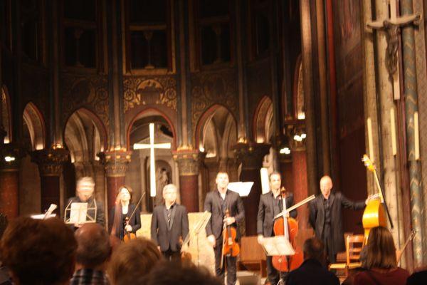 Eglise Saint Germain-de-pres Concert Paris, France