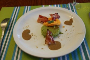 Appetizer at Ecole des Trois Ponts Riorges France