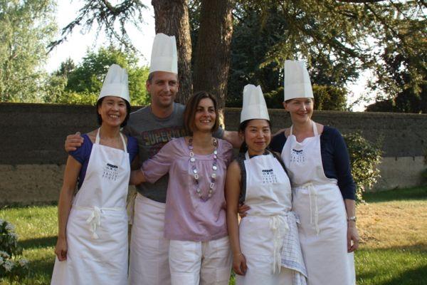 The group at Ecole des Trois Ponts Riorges France