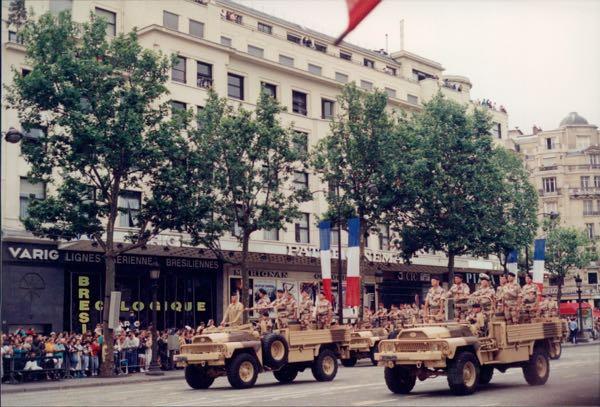 Bastille Day Parade Paris, France French Revolution July 14