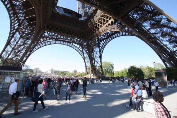 Under The Eiffel Tower Paris France Bucket List