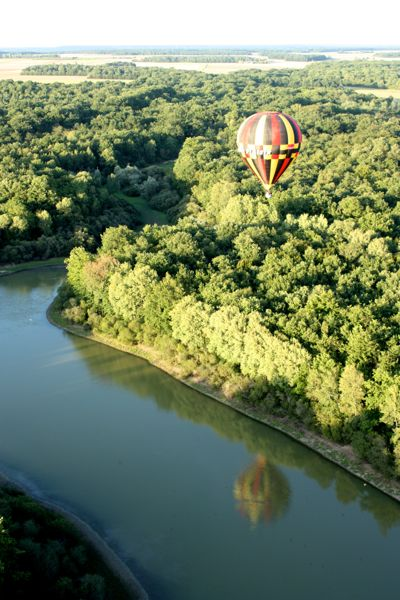 Hot Air Ballon In The Loire Valley France Bucket List