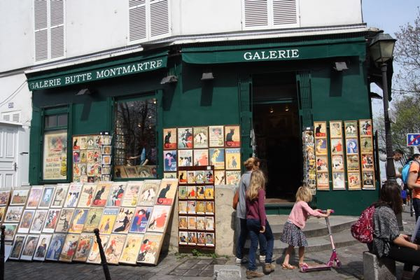 Montmartre Paris, France First trip to Paris