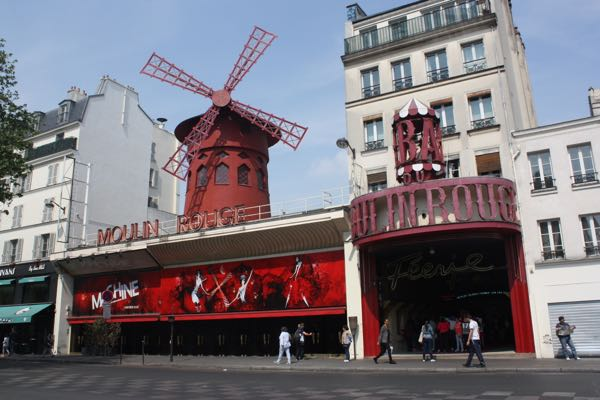 Moulin Rouge Paris, France First trip to Paris