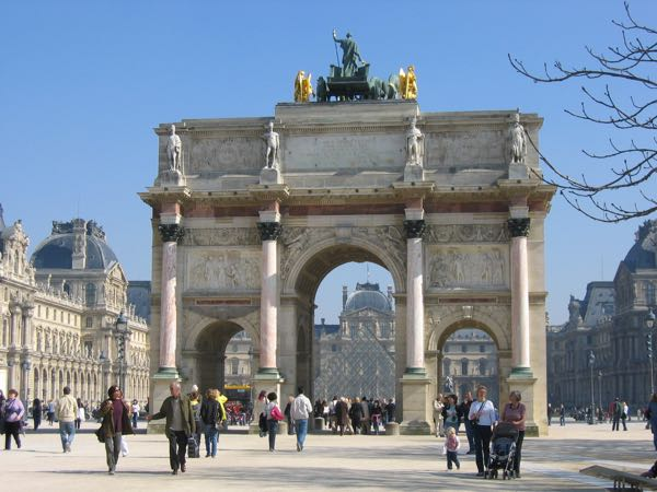 Entrance To Tuileries Gardens Paris, France French Revolution July 14