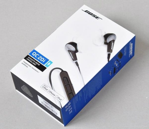 Bose Quietcomfort 20i Noise-cancelling headphones Long flight