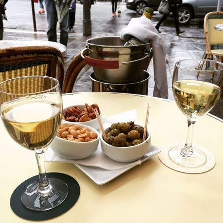 Les Deux Magots Paris France. Photo: S. Gray (Travelandstyle.ca)