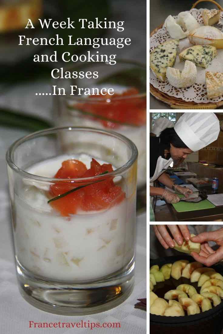 A Week Taking French Language and Cooking Classes At Ecole des Trois Ponts (Pinterest