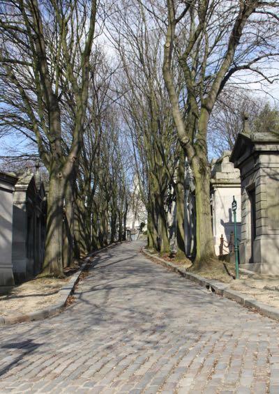 Cimetiere du Pere-Lachaise, Paris France
