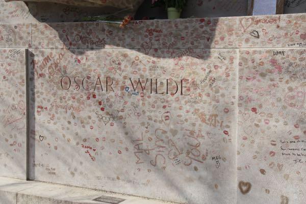 Paris Locations Oscar Wilde Cimetiere du Pere-Lachaise Paris, France