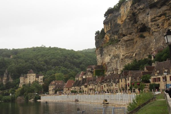 Volcanoes in France and Village of La Roque Gageac