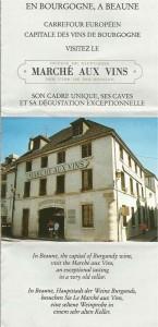 Marche Aux Vins Beaune, France