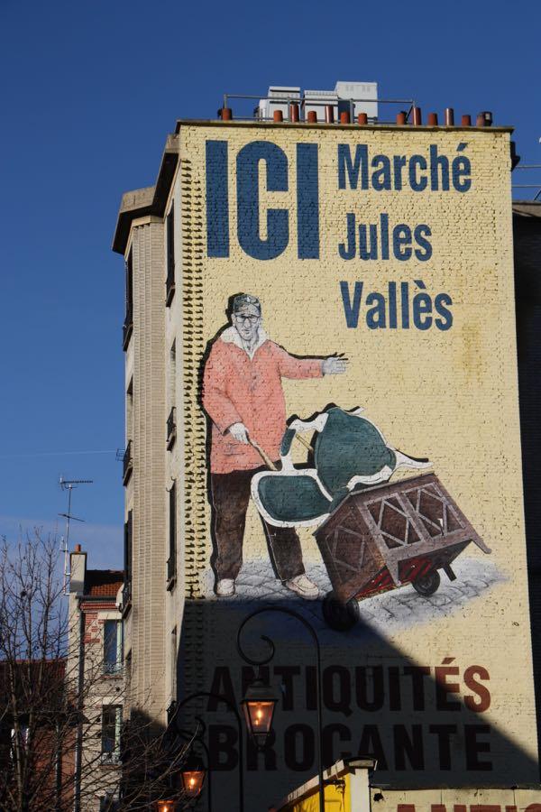 Marche Aux Puces, Paris France