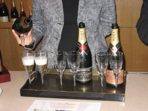 Moet and Chandon Champagne tasting France