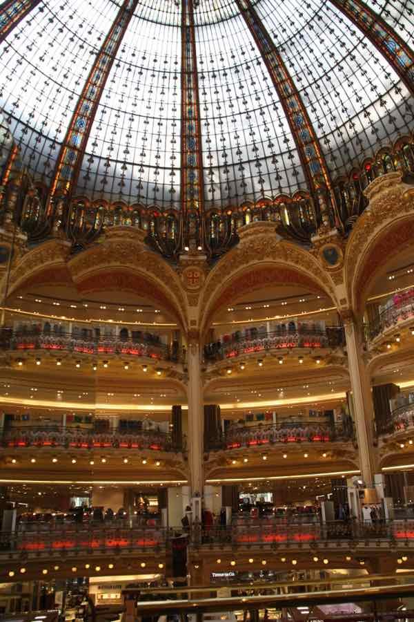 Galeries Lafayette Paris France