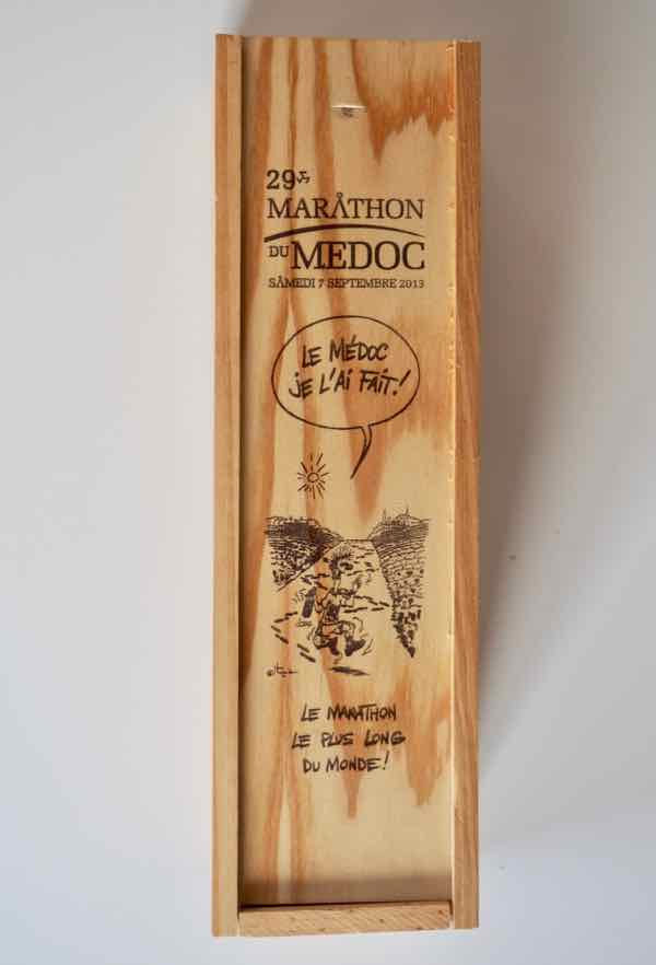 Wine from the Marathon du Medoc (J. Chung)