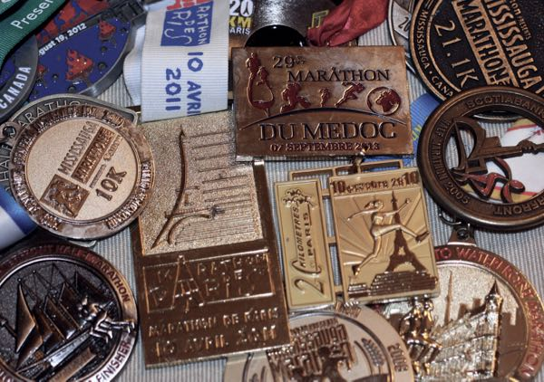 Running Race Finisher Medals France