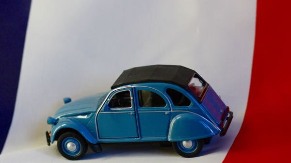 Unique gift from France Citroen 2CV
