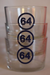 Unique gift from France 64 Glasses