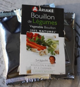 Unique gift from France Bouillon by Joel Robuchon