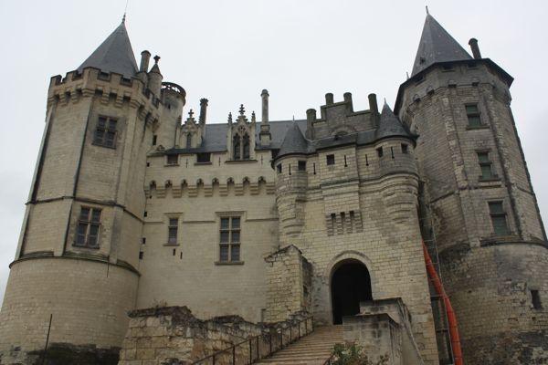 medieval Chateau de Saumur France Chateau