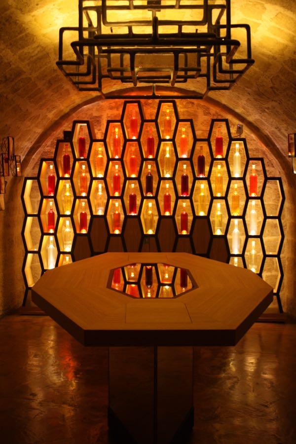 The labelling room at Les Caves du Louvre, Paris Wine experiences