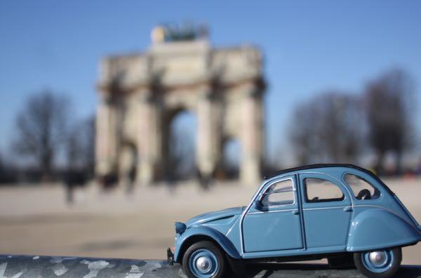 JansFrance2CV Arc de Triomphe du Carrousel