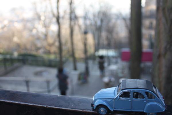 JansFrance2CV Montmartre Rue Foyatier