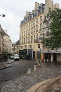 Paris Locations: Rue de la Montagne Saint-Genevieve Paris, France