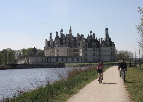 Chateau du Chambord, France. Active boomer